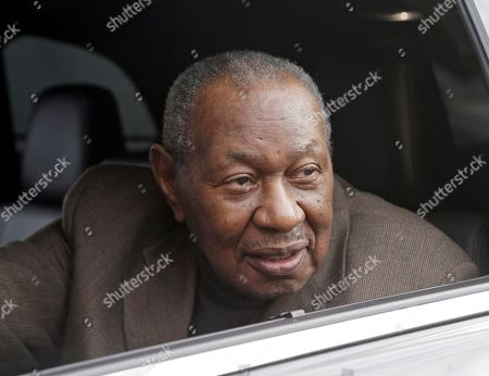 """Stock Image of Freddy Cole Freddy Cole, brother of Nat """"King"""" Cole, leaves funeral services for Natalie Cole at West Angeles Church of God in Christ in the Crenshaw district of Los Angeles, . The R&B singer Natalie Cole died on New Year's eve at age 65"""