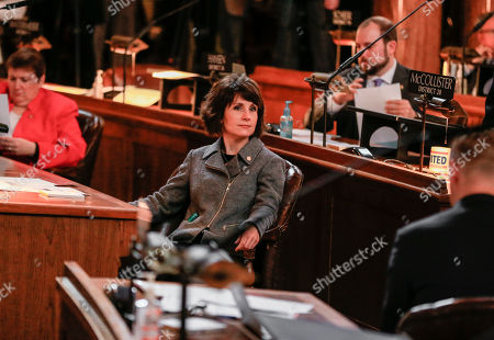Nicole Fox Nebraska's newest state Sen., Nicole Fox, of Omaha, sits in the Legislative Chamber on the opening day of the legislature in Lincoln, Neb., . Nebraska lawmakers kicked off the 2016 session with an expected focus on property taxes, prisons and a looming state budget shortfall