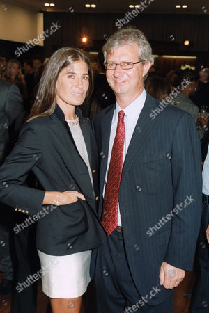 Stock Picture of Elizabeth Saltzman and Claudio del Vecchio