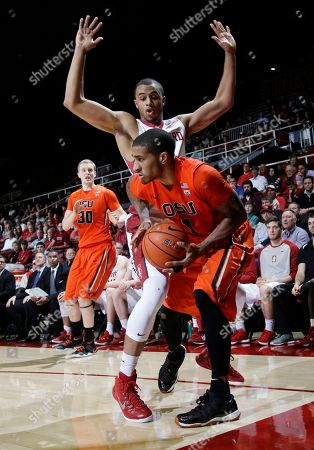 Gary Payton II, Cameron Walker Oregon State guard Gary Payton II, right, looks to get past Stanford forward Cameron Walker during the second half of an NCAA college basketball game, in Stanford, Calif. Oregon State won 62-50