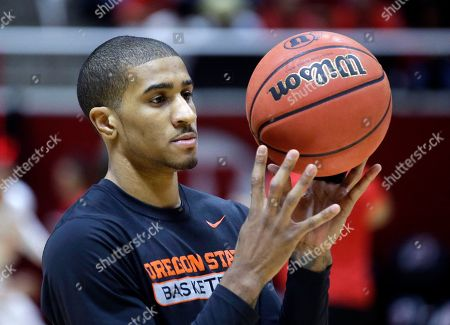 Gary Payton II Oregon State guard Gary Payton II warms up during before the start of their NCAA college basketball game against Utah, in Salt Lake City