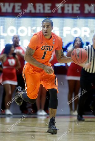 Gary Payton II Oregon State guard Gary Payton II (1) brings the ball up court during the first half of an NCAA college basketball game against Utah, in Salt Lake City