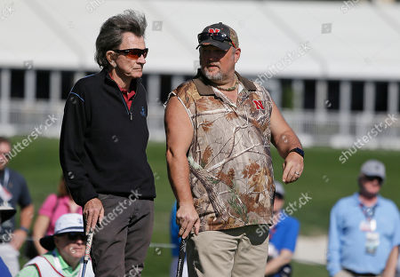 Gary Mule Deer, Larry the Cable Guy Gary Mule Deer, left, and Larry the Cable Guy, right, during the celebrity challenge event of the AT&T Pebble Beach National Pro-Am golf tournament, in Pebble Beach, Calif