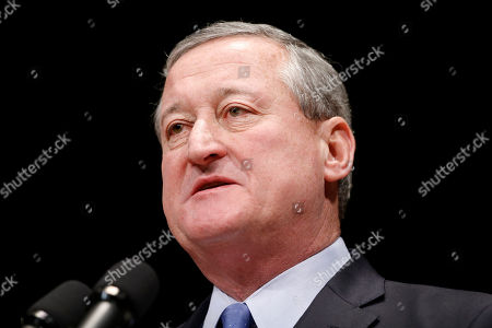 Stock Image of Jim Kenney Jim Kenney speaks during his inauguration as the city's 99th mayor, at the Academy of Music in Philadelphia. The 57-year-old Kenney succeeds Michael Nutter, who leaves office after two terms. Kenney served on city council for more than two decades before he was elected in November