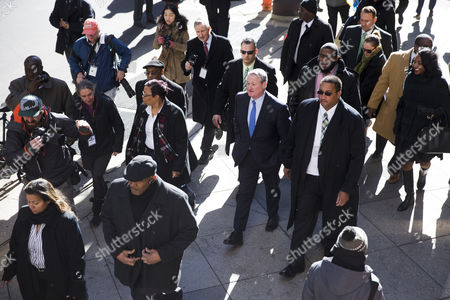 Jim Kenney Newly sworn in Philadelphia Mayor Jim Kenney, center in blue tie, takes the sidewalk from his inauguration to City Hall, in Philadelphia. The 57-year-old Kenney succeeds Michael Nutter, who leaves office after two terms. Kenney served on city council for more than two decades before he was elected in November