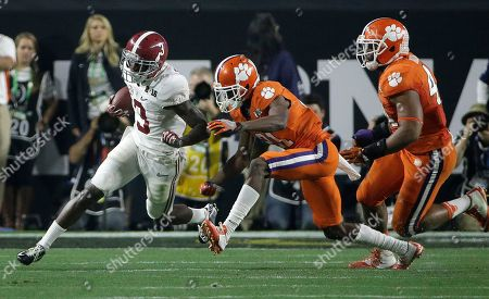 Editorial picture of Playoff Championship Clemson Alabama Football, Glendale, USA