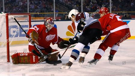Editorial image of Red Wings Avalanche Alumni Hockey, Denver, USA