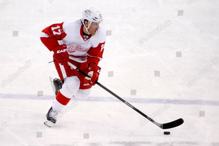 Brad Richards Detroit Red Wings center Brad Richards (17) skates during an NHL hockey game against the Pittsburgh Penguins in Pittsburgh
