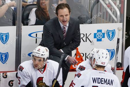 Jason Smith Ottawa Senators assistant coach Jason Smith gives instructions during an NHL hockey game against the Pittsburgh Penguins in Pittsburgh