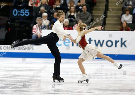 Editorial photo of US Championships Figure Skating, St. Paul, USA