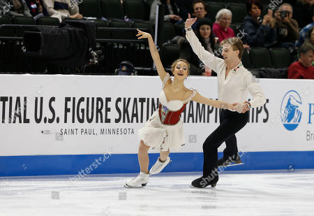 Editorial picture of US Championships Figure Skating, St. Paul, USA