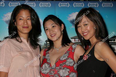 Stock Image of Jacqueline Kim, Kathy Shao-Lin Lee, Elaine Kao