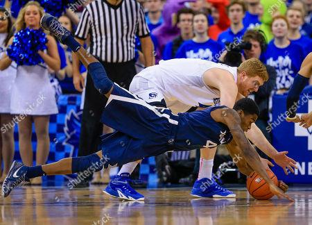 Editorial photo of Xavier Creighton Basketball, Omaha, USA