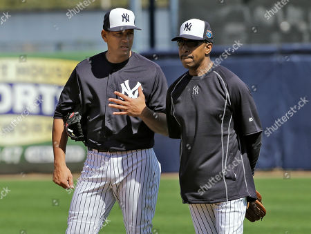 Alex Rodriguez, Willie Randolph New York Yankees 'Alex Rodriguez, left, talks to coach Willie Randolph during a spring training baseball workout, in Tampa, Fla