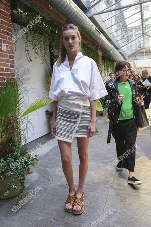 Editorial image of Vanessa Bruno presentation, Spring Summer 2017, Paris Fashion Week, France  - 02 Oct 2016