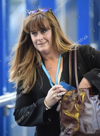 Stock Photo of Member of Parliament for Rochester and Strood Kelly Tolhurst attends the 2016 Conservative Party Conference.