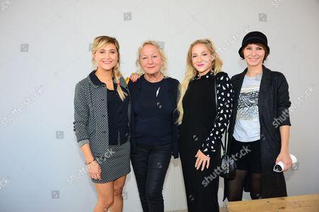 Stock Image of Berangere Krief, Agnes Trouble, Marilou Berry, Dinara Droukarova