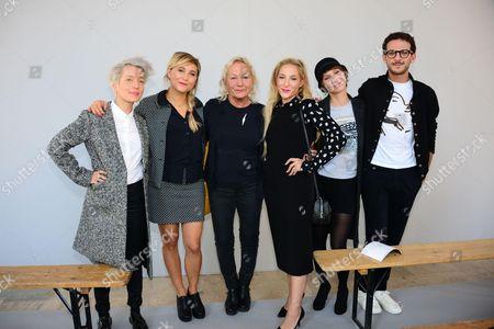 Jeanne Added, Berangere Krief, Agnes Trouble, Marilou Berry, Dinara Droukarova, Vincent Dedienne