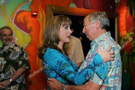 Jodi Benson and Roy Disney