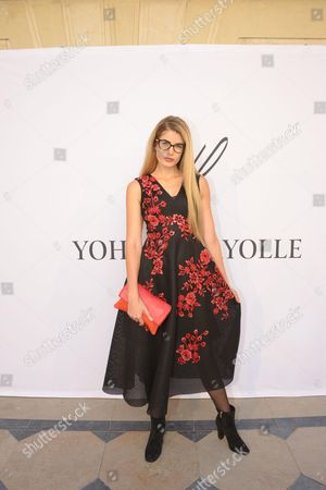 Editorial photo of Yoann Fayolle show, Arrivals,  Spring Summer 2017, Paris Fashion Week, France - 04 Oct 2016