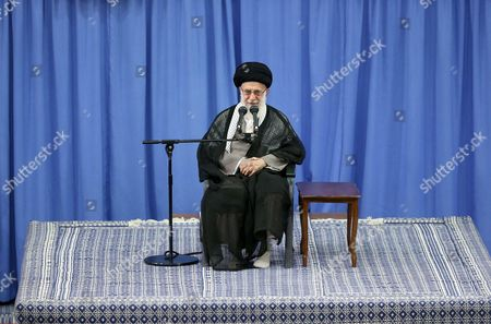 Stock Photo of Iranian Supreme Leader Ayatollah Ali Khamenei