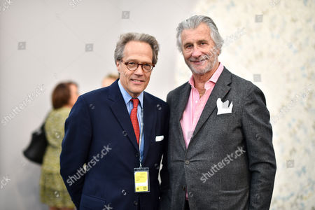 Lord March and Arnaud Bamberger