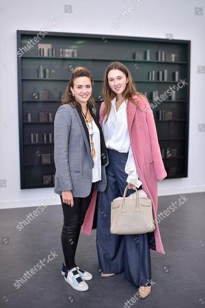 Victoria Gelfand-Magalhaes and Maria Baibakova