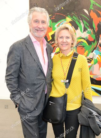 Stock Picture of Arnaud Bamberger and Carla Bamberger