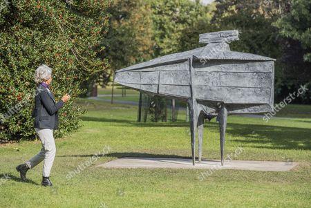 Editorial picture of Frieze Sculpture Park, Regents Park, London, UK - 05 Oct 2016