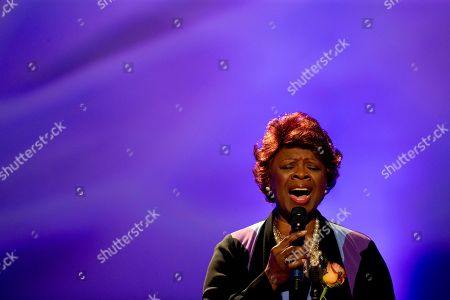 Irma Thomas Singer Irma Thomas performs during a funeral tribute to Allen Toussaint in New Orleans, . New Orleans and lovers of New Orleans' rich musical heritage crowded into a historic theater Friday and bid goodbye in words and song to Toussaint, a prolific songwriter, performer and producer who died last week at age 77