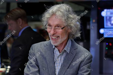 Stock Picture of Bob Mankoff Bob Mankoff, featured cartoonist and cartoon editor of The New Yorker magazine, poses for photos on the floor of the New York Stock Exchange, after ringing the opening bell