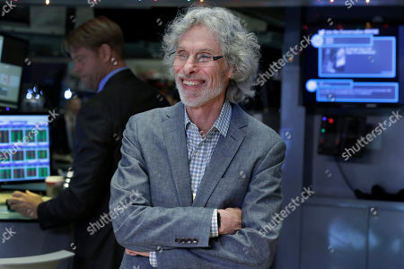 Stock Photo of Bob Mankoff Bob Mankoff, featured cartoonist and cartoon editor of The New Yorker magazine, poses for photos on the floor of the New York Stock Exchange, after ringing the opening bell