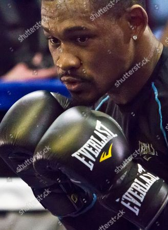 Daniel Jacobs Brooklyn's middleweight boxer Daniel Jacobs workout at Gleason's Gym, in Brooklyn, N.Y. Jacobs will fight Brooklyn's Peter Quillin for the WBA World middleweight title as the main event, during Showtime championship boxing at Barclays Center, Saturday Dec. 5