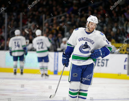 Brandon Prust Vancouver Canucks' Brandon Prust skates during the second period of an NHL hockey game against the Los Angeles Kings, in Los Angeles