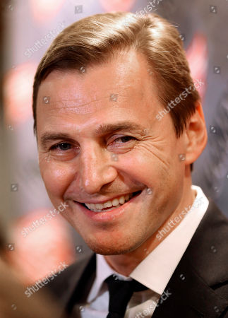 Stock Picture of Sergei Fedorov Former Detroit Red Wings forward Sergei Fedorov speaks to the media before an NHL hockey game against the Washington Capitals in Detroit. Fedorov was recently inducted into the Hockey Hall of Fame