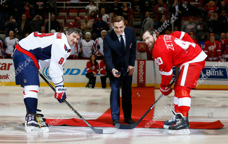 Editorial photo of Capitals Red Wings Hockey, Detroit, USA