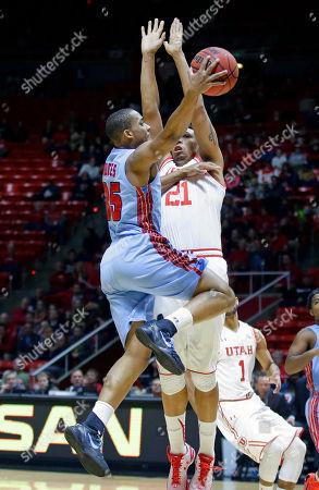 Editorial image of Delaware St Utah Basketball, Salt Lake City, USA