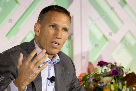 "Ynon Kreiz Ynon Kreiz, CEO of Maker Studios, speaks at the conference ""Ignition: Future of Digital,"", in New York"