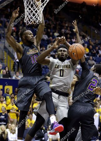 Jaylen Brown, Clarence Williams East Carolina's Clarence Williams, left, and California's Jaylen Brown (0) look for a rebound during the first half of an NCAA college basketball game, in Berkeley, Calif