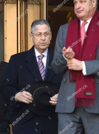 Sheldon Silver Former New York Assembly Speaker Sheldon Silver, left, follows his lawyer Joel Cohen as they leave court after jurors took a break in Silver's federal corruption trial, in New York. Jurors worked through the morning and then adjourned for the long holiday weekend. Deliberations will resume on Monday, Nov. 30