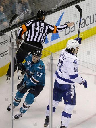 Editorial photo of Lightning Sharks Hockey, San Jose, USA