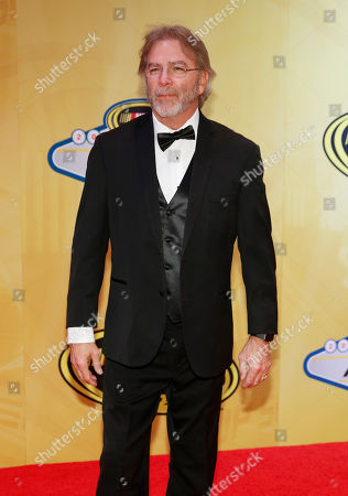 Bill Engvall poses on the red carpet before the NASCAR Sprint Cup Series auto racing awards, in Las Vegas