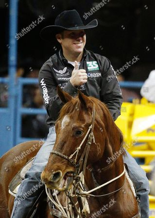 Editorial photo of National Finals Rodeo, Las Vegas, USA