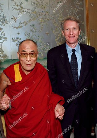 The Dalai Lama and Chris McGurk