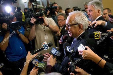 Editorial image of Penn State Abuse, Harrisburg, USA