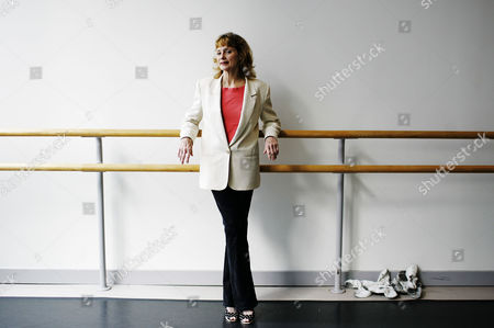 Editorial photo of Suzanne Farrell in a dance studio on 42nd Street, New York, America - 29 Jun 2006