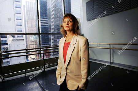 Editorial picture of Suzanne Farrell in a dance studio on 42nd Street, New York, America - 29 Jun 2006