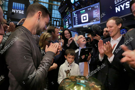 Editorial photo of Square IPO, New York, USA