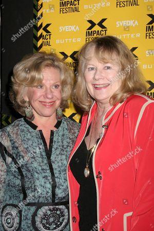 Erica Jong, Shirley Knight