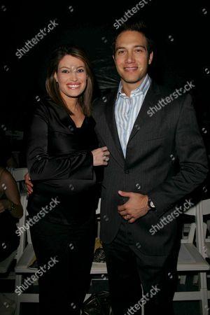 Stock Photo of Kimberly Guilfoyle Newsom and Eric Villency